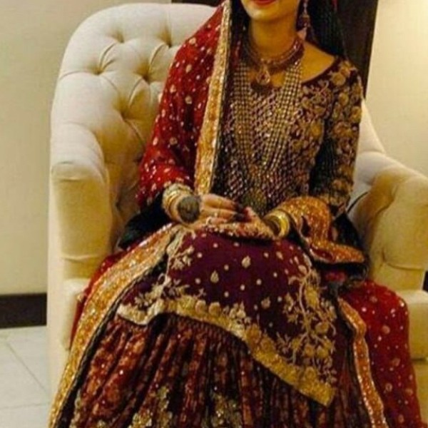 Pakistani bridal dresses in qatar